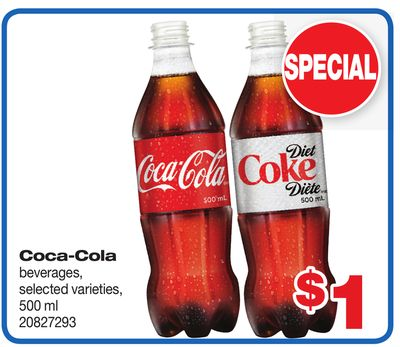 Coca-cola Beverages - 500 ml