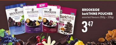 Brookside Barkthins Pouches - (150g – 235g)