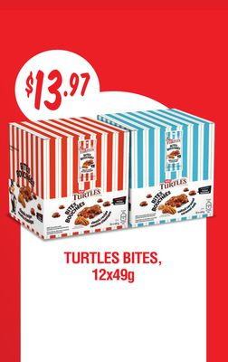 Turtles Bites - 12x49g