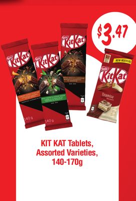 Kit Kat Tablets - 140-170g