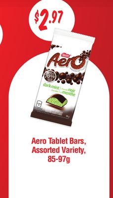 Aero Tablet Bars - 85-97g