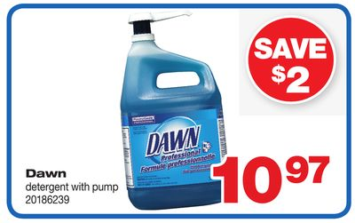 Dawn Detergent With Pump