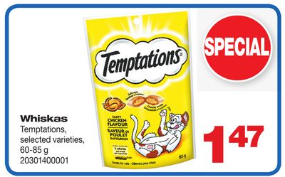Whiskas Temptations - 60-85 g