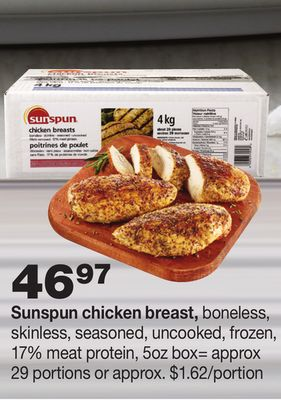Sunspun Chicken Breast