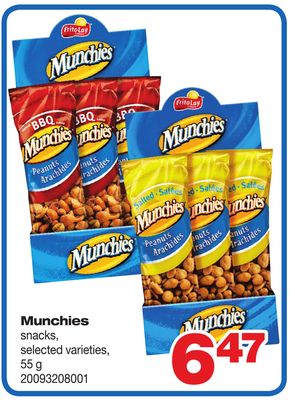 Munchies Snacks - 55 g
