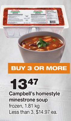 Campbell's Homestyle Minestrone Soup