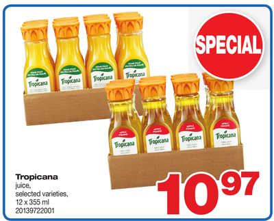 Tropicana Juice - 12 X 355 ml