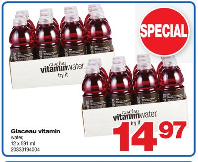 Glaceau Vitamin Water - 12 X 591 ml
