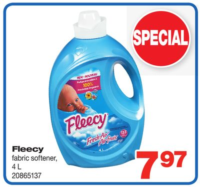 Fleecy Fabric Softener - 4 L