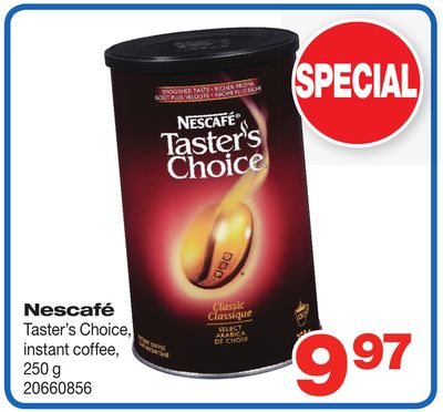 Nescafé Taster's Choice - Instant Coffee - 250 g