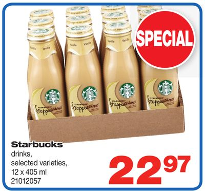 Starbucks Drinks - 12 X 405 ml
