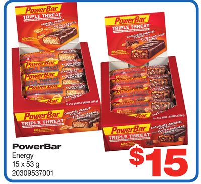 Powerbar Energy - 15 X 53 g