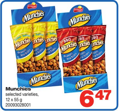 Munchies - 12 X 55 g
