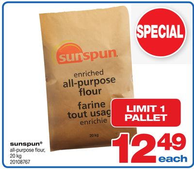 Sunspun All-purpose Flour - 20 Kg