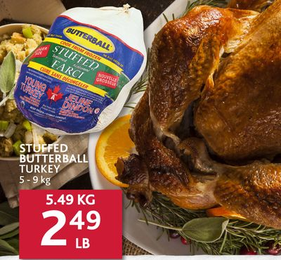 how to cook a stuffed butterball turkey