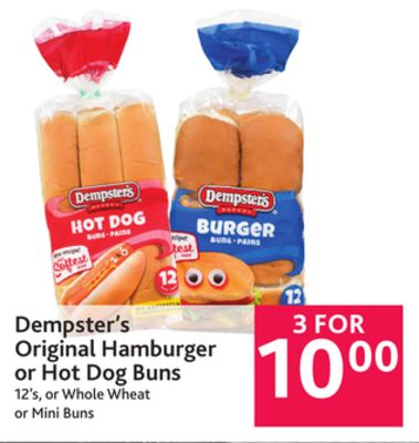 Mini Hot Dog Buns For Sale