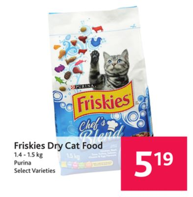 Portions Cat Food Dry