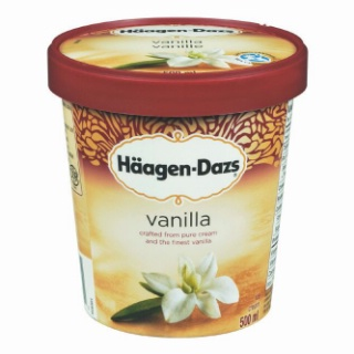 Hagen dazs ice cream gelato on sale for Gelati haagen dazs