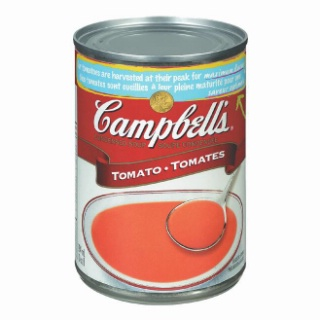 Campbell's Tomato - Chicken Noodle - Cream of Mushroom or Vegetable Soup