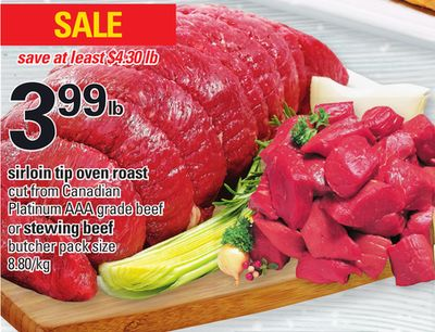 Sirloin Tip Oven Roast Or Stewing Beef