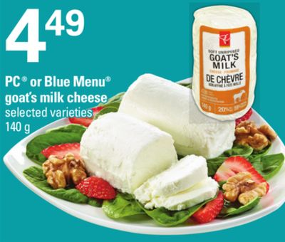PC Or Blue Menu Goat's Milk Cheese - 140 g