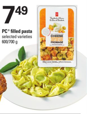 PC Filled Pasta - 600/700 g