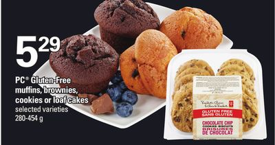 PC Gluten-free Muffins - Brownies - Cookies Or Loaf Cakes - 280-454 g