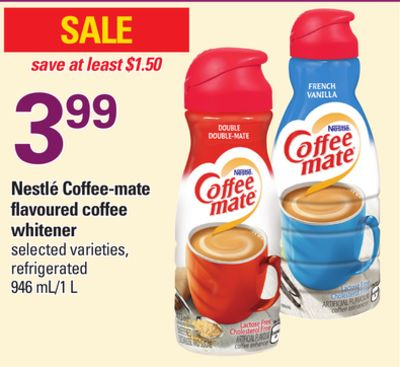 Nestlé Coffee-mate Flavoured Coffee Whitener - 946 Ml/1 L