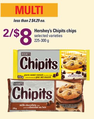Hershey's Chipits Chips - 225-300 g