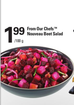 From Our Chefs Nouveau Beet Salad