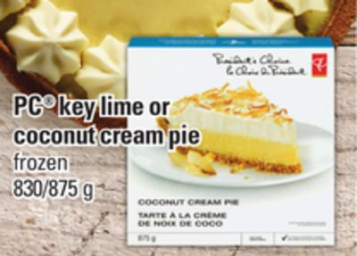 PC Key Lime Or Coconut Cream Pie 830/875 G