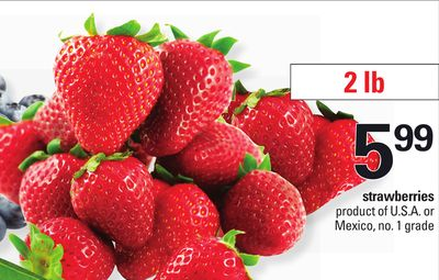 Strawberries - 2 Lb