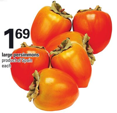 Large Persimmons