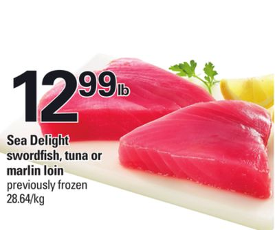 Sea Delight Swordfish - Tuna Or Marlin Loin