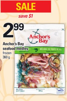 Anchor's Bay Seafood Medley - 360 g