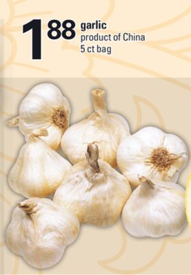 Garlic - 5 Ct Bag