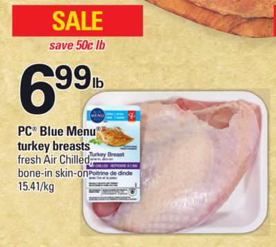 PC Blue Menu Turkey Breasts