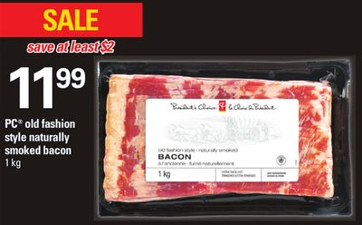PC Old Fashion Style Naturally Smoked Bacon - 1 Kg