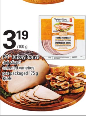 PC Turkey Breast