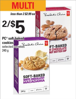PC Soft-baked Cookies - 240 g