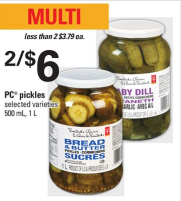 PC Pickles - 500 mL - 1 L