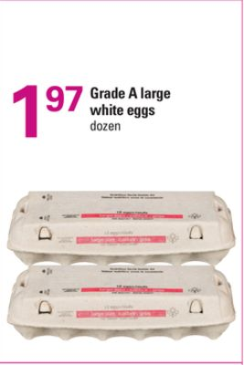 Grade A Large White Eggs