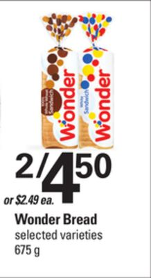 Wonder Bread - 657 g