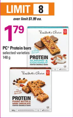 PC Protein Bars - 148 g