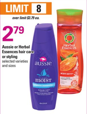 Aussie Or Herbal Essences Hair Care Or Styling