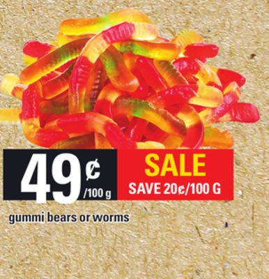 Gummi Bears Or Worms
