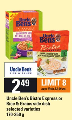 Uncle Ben's Bistro Express Or Rice & Grains Side Dish - 170-250 g