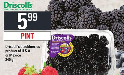 Driscoll's Blackberries - 340 g