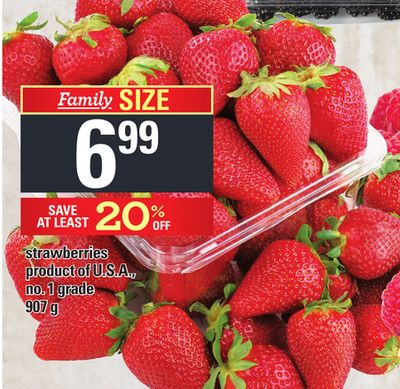 Strawberries - 907 g