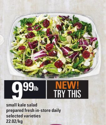 Small Kale Salad